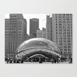 Chicago Clouds Canvas Print