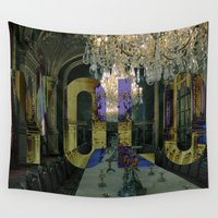 yolo Wall Tapestries featuring YOLO by MICKEY FICKEY GALLERY