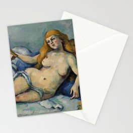 Leda and the Swan by Paul Cézanne. Stationery Cards