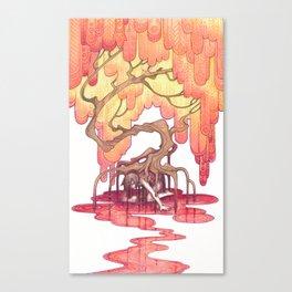 hanahaki Canvas Print