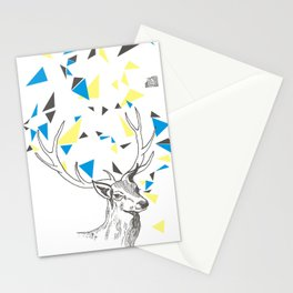 Rainbow Collection / deer Stationery Cards