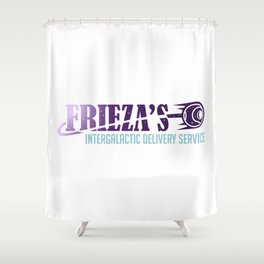 Frieza's Intergalactic Delivery Service Shower Curtain