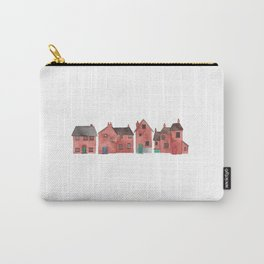 Red Houses Carry-All Pouch