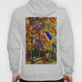 Fourteenth of July Celebration in Paris by Vincent van Gogh Hoody