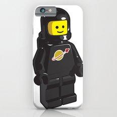 Vintage Lego Black Spaceman Minifig Slim Case iPhone 6