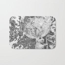 Moon Rabbit Bath Mat