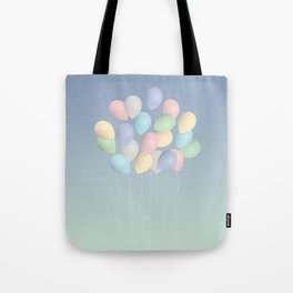 Balloons bouquet Tote Bag