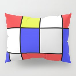 Mondrian #25 Pillow Sham