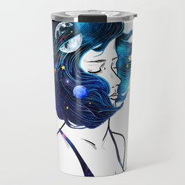 blowing  universe mind. Travel Mug