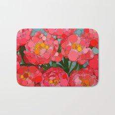 Pink Tulips On Parade! Bath Mat