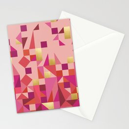 Valentine Quilt Stationery Cards