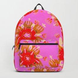 Orange Christie Rose Backpack