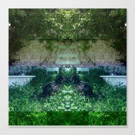 13-05-15 (NOLA Yard Glitch) Canvas Print