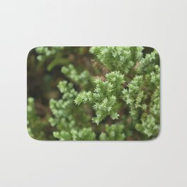 Anything goes with green. Bath Mat