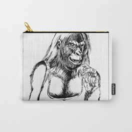 Gorilla Girl Carry-All Pouch
