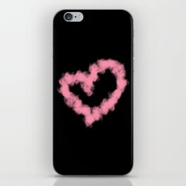 LOVE IN SMOKE iPhone Skin