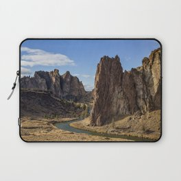 River and Rock Laptop Sleeve
