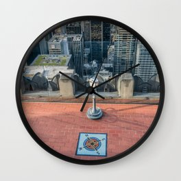 Coin operate viewfinder at Rockefeller Center Wall Clock
