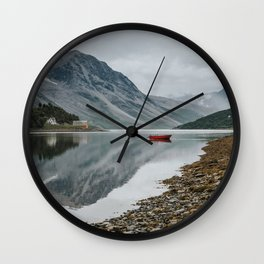 Norway I - Landscape and Nature Photography Wall Clock