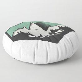 Olympic National Park Floor Pillow
