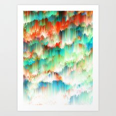 Raindown Art Print