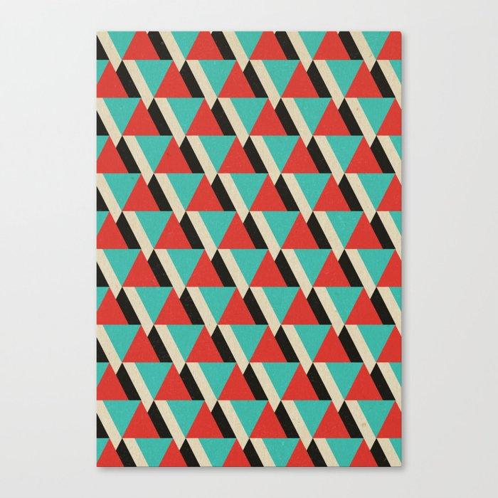 Retrospect, Triangle Duo, No. 04 Canvas Print