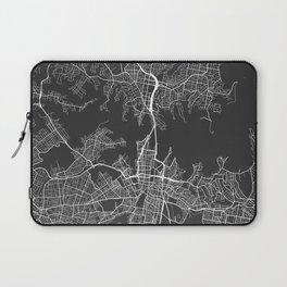 Sydney Map, Australia - Gray Laptop Sleeve