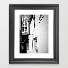 Bashful Alley Framed Art Print