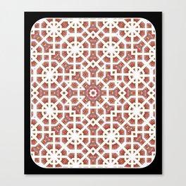 Geometrical Star Pattern Canvas Print
