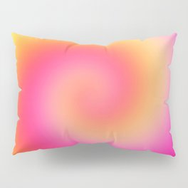 Spiral Of Color Pillow Sham