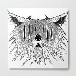 Kittykatt Metal Print