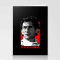 senna Stationery Cards featuring Formula One - Ayrton Senna by Vehicle