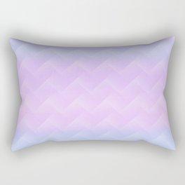 Chevron Candy floss Rectangular Pillow