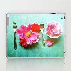 You Are What You Eat - Aqua Laptop & iPad Skin