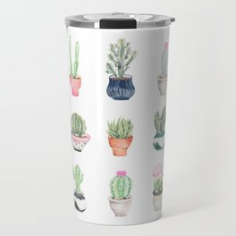 Succulents Travel Mug