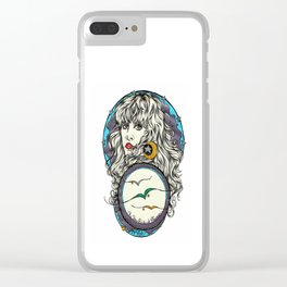 The 3 Birds of Rhiannon Clear iPhone Case