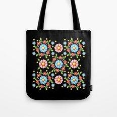 Millefiori Folkloric Pinwheel Tote Bag