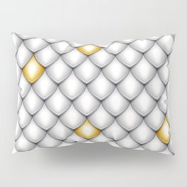 Fish Scale Pattern Design Pillow Sham