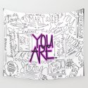 You Are - Fuchsia by hollyjonesecu