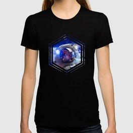 Astronaut in orbit #4 T-shirt