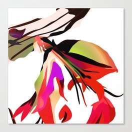 Lobster Flower Canvas Print