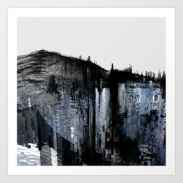 Tokyo in the Ice Age no. 6 Art Print