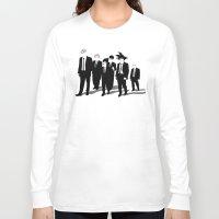 reservoir dogs Long Sleeve T-shirts featuring Reservoir Warriors by ddjvigo
