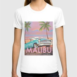 Malibu Los Angeles California T-shirt