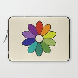 James Ward's Chromatic Circle 1903 (no background; interpretation) Laptop Sleeve