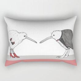 Kiwis - A Night Out Rectangular Pillow