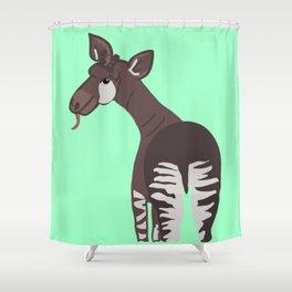 Okapi - Male Shower Curtain