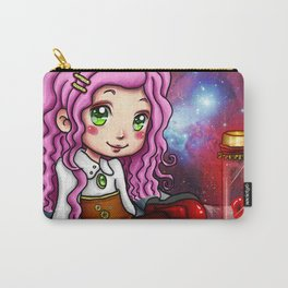 Red Matter Steampunk Girl Carry-All Pouch