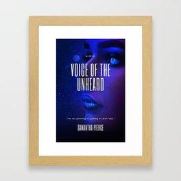 Voice Of The Unheard Cover Framed Art Print