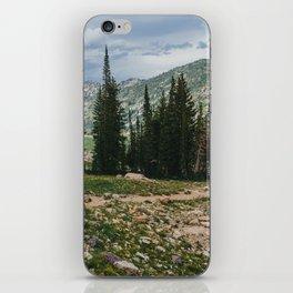 Wasatch Mountains, Utah iPhone Skin